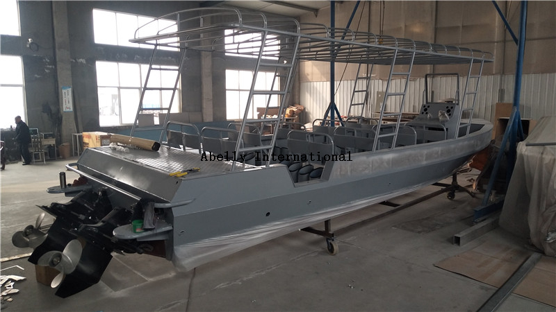 9.8m aluminum diving boat